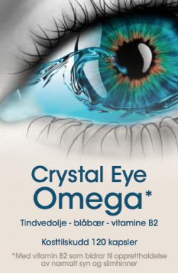 Crystal Eye Omega  – for deg med tørre, trette og såre øyne